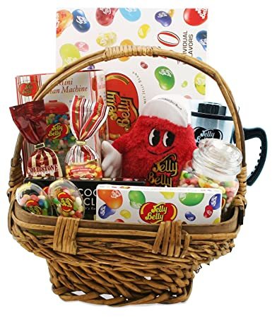 Image Unavailable. Image not available for. Color: The Jelly Belly Premium Gift Basket