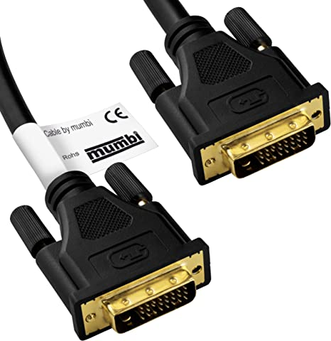18+1 DVI Kabel SingleLink 2x DVI-D Stecker 2.00m