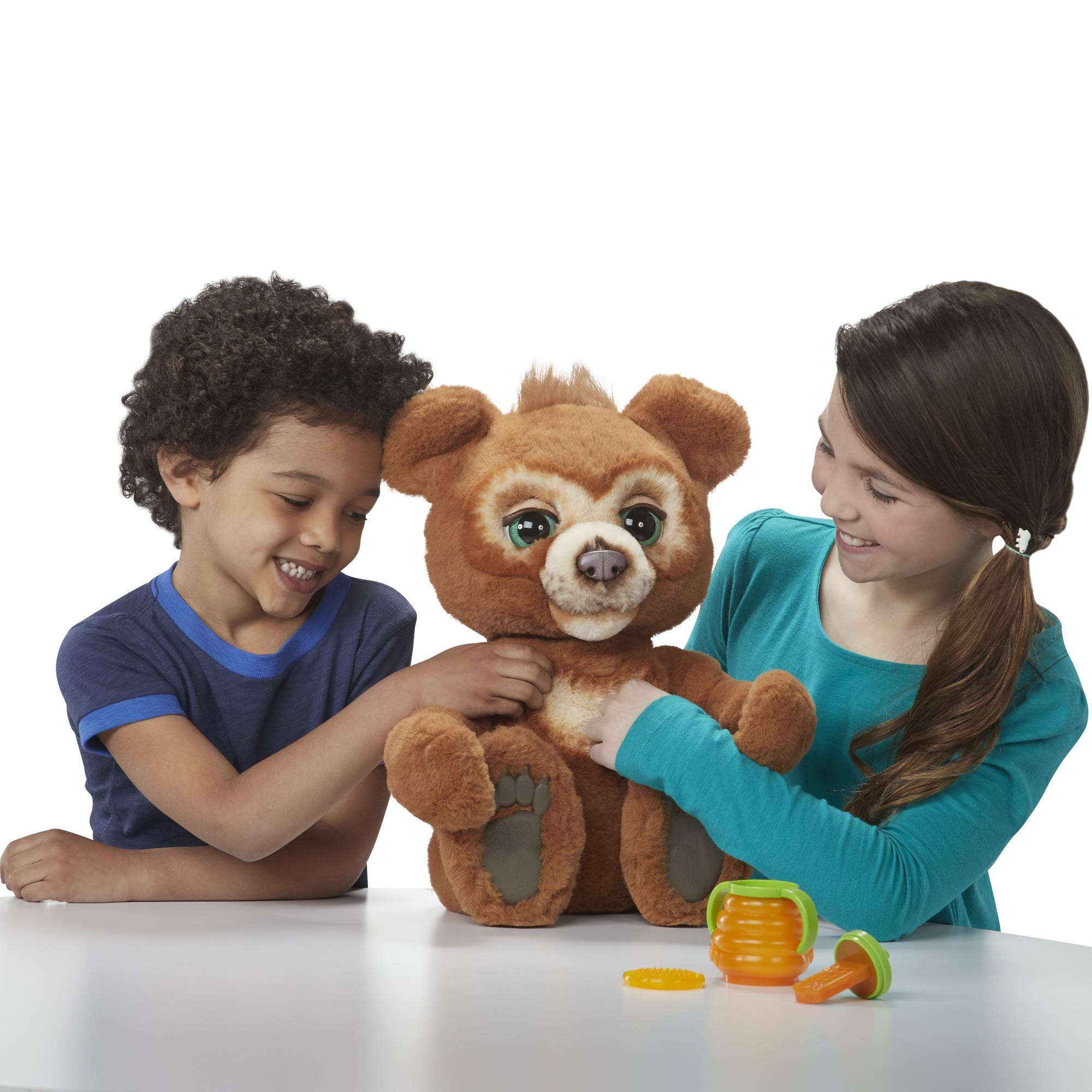 FurReal Cubby, The Curious Bear Interactive Plush Toy, Ages 4 and Up by FurReal (Image #13)
