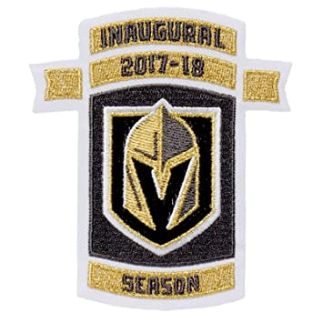 Tujuh Vegas Golden Knights Inaugural Nhl Season Embroidered Jersey Patch