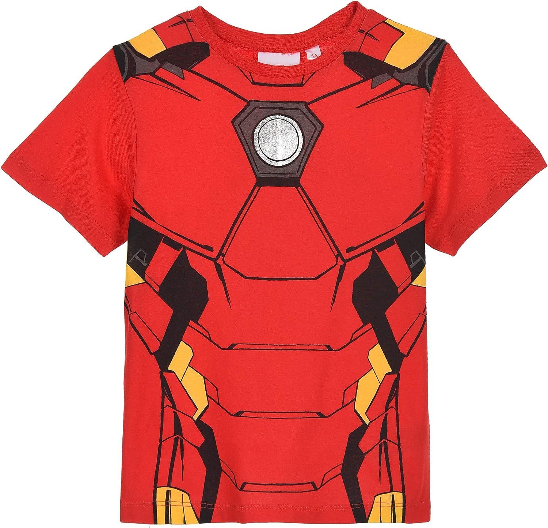 Avengers Bambino T Shirt Maniche Corte