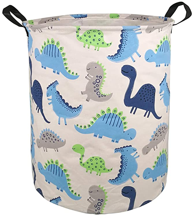 College Dorms MZIMIK Large Waterproof Storage Bin Lightweight Organizer Basket for Laundry Hamper,Toy Bins,Gift Baskets,Dirty Clothes Alphabet Kids Bedroom,Bathroom