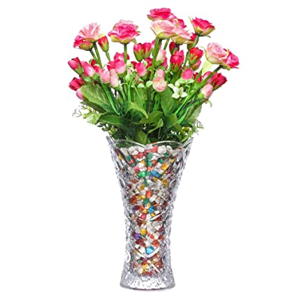 Preferred Buy PRAX Decorative Large Crystal Touch Flower Vase Online at Low  ZK32