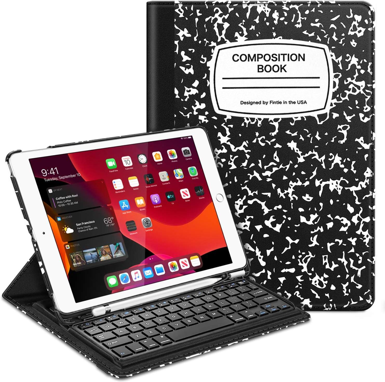Funda con teclado Fintie para tableta iPad 10.27gen(TNR4)