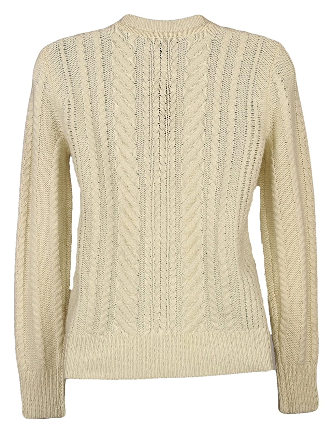 257509f4f4b J. Crew Perfect Cable Sweater Womens Cream Size XXS at Amazon Women s  Clothing store