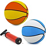 "Srenta 7"" Assorted Colors Mini Basketballs 