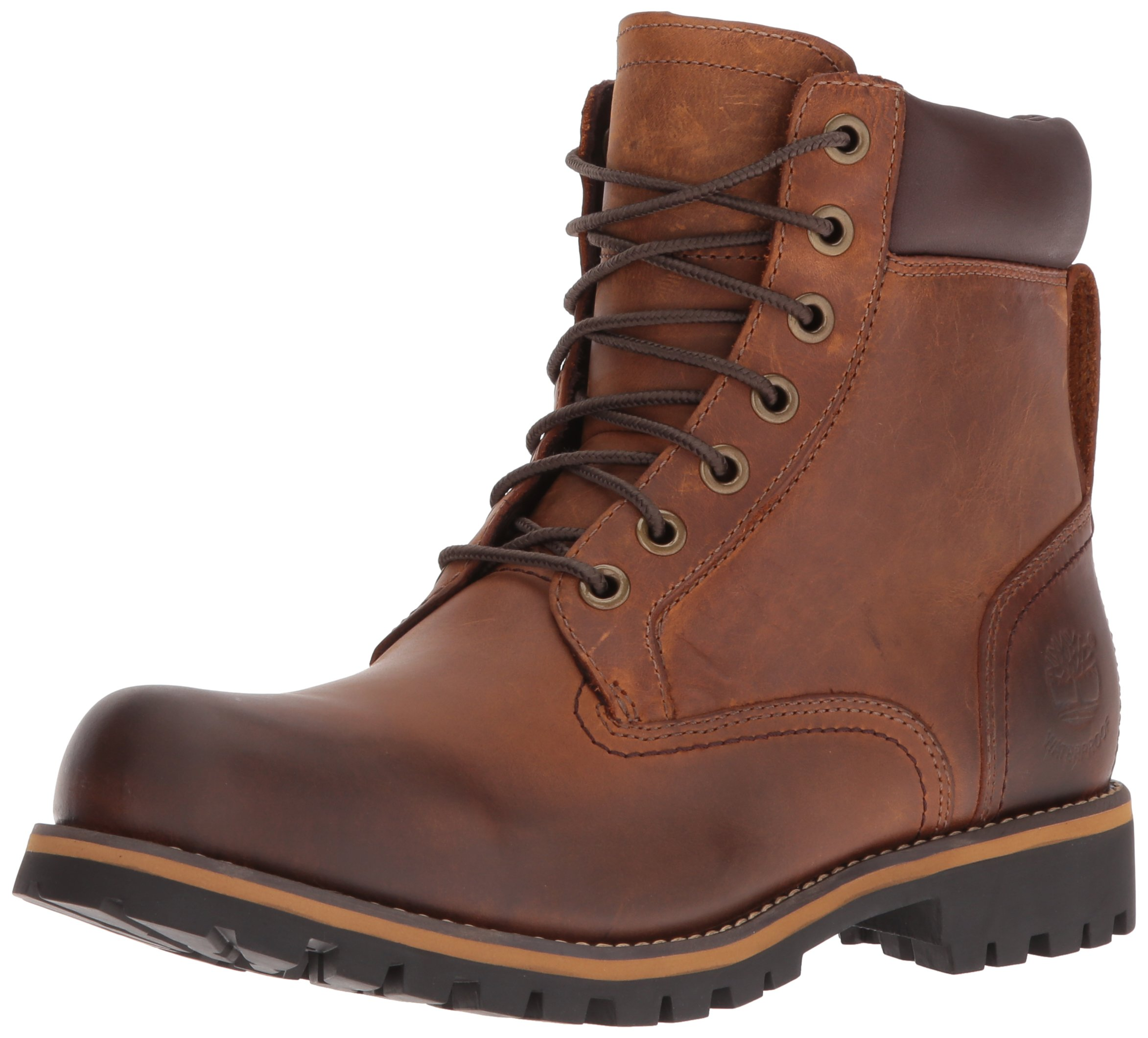Timberland Men's Earthkeepers Rugged Boot, Red Brown, 10 M US