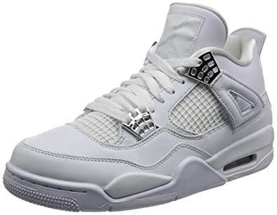 eb2cdcf646e3c8 Image Unavailable. Image not available for. Color  Air Jordan 4 Retro  quot  Pure Money quot  - 308497 100