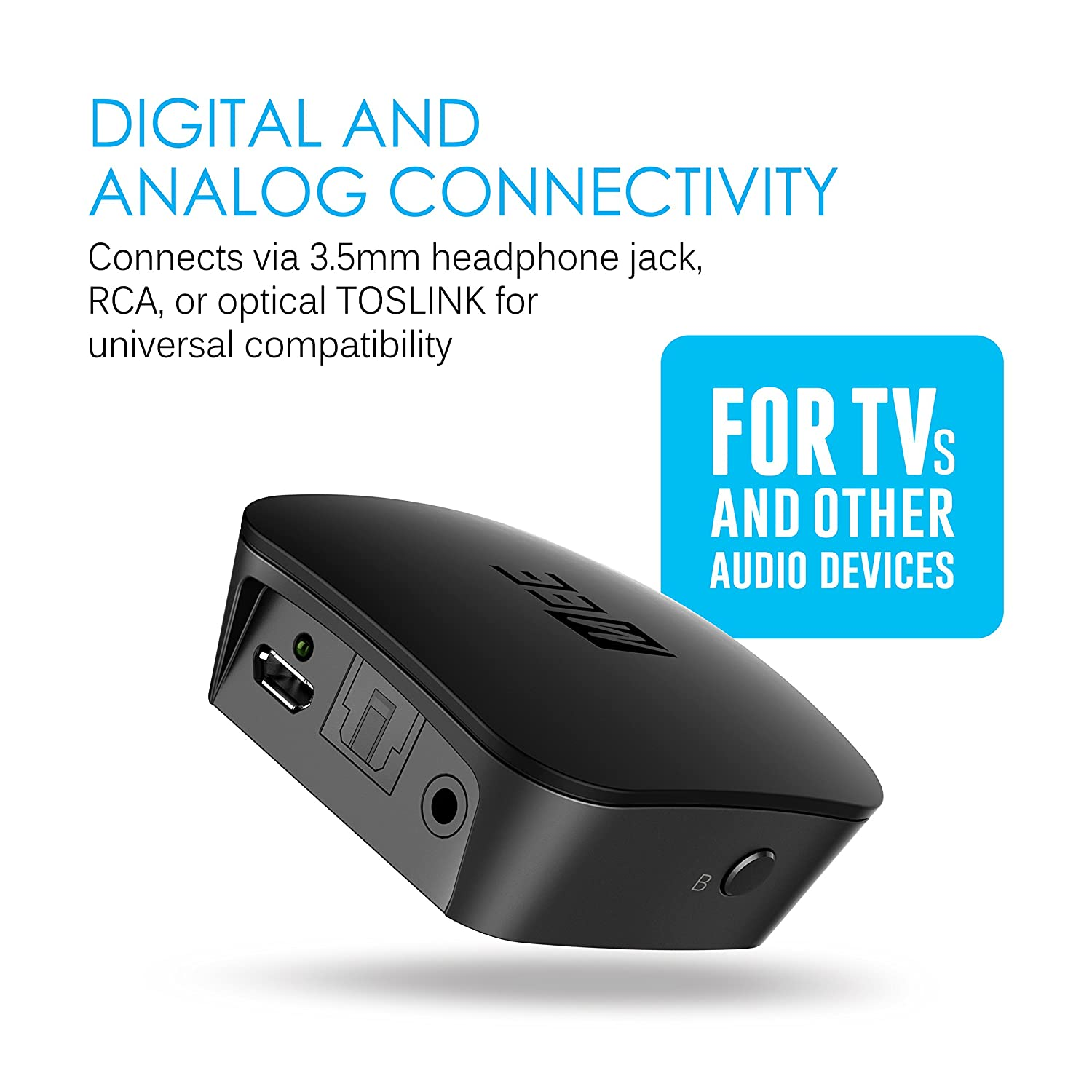 Dual Pairing Bluetooth Wireless Wire Center Voltagecontrolled Filter Circuit Diagram Tradeoficcom Mee Audio Connect Portable Universal Transmitter With Rh Amazon Co Uk Guide Iphone 4 Problems