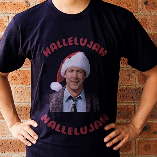 Christmas Vacation Hallelujah.Christmas Vacation Movie Clark Griswold Hallelujah T Shirt