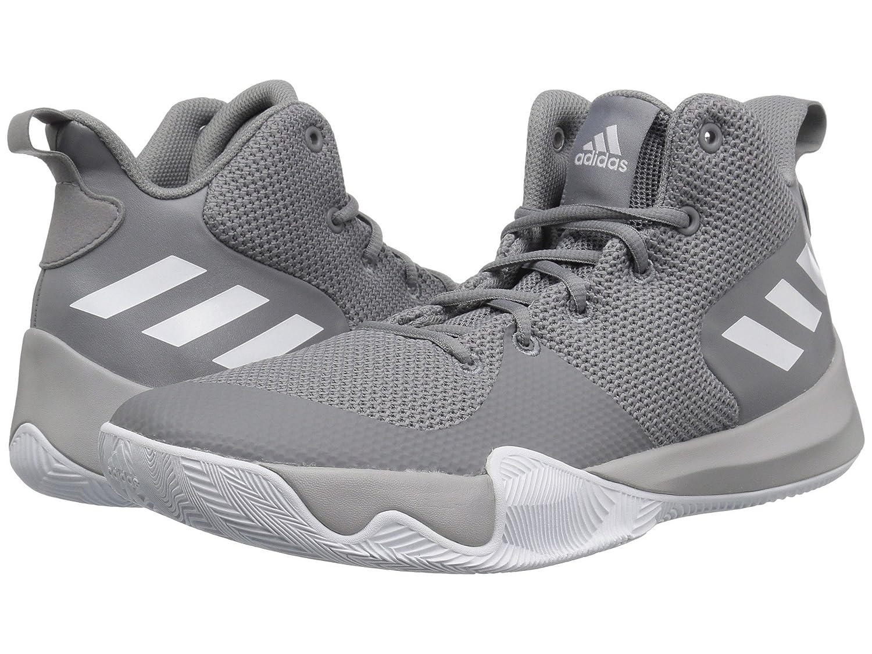 (アディダス) adidas メンズ野球ベースボールシューズ靴 Explosive Flash Grey 3/White/Grey 2 9 (27cm) D Medium B07CPBSF1S