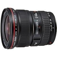 Canon EF 17-40mm F/4L USM - Objetivo para Canon (distancia focal 17-40mm, apertura f/4-22, zoom óptico 2.4x,diámetro: 77mm) negro