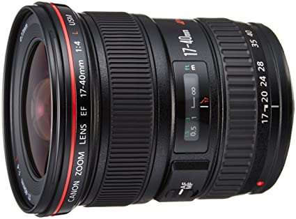 Review Canon 17-40mm f/4L EF