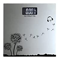 MCP Glass Electronic Digital Personal Bathroom Body Weight Machine Weighing Scale (Assorted color & deisgn)