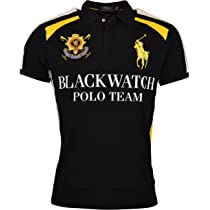 6b4fa536 Polo Ralph Lauren Mens Custom Fit Blackwatch Polo Shirt - S - Polo ...