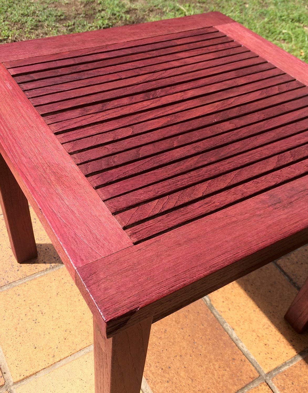 Luminos LUM1112 - Protector de acabado de madera para exteriores, color rojo burdeos: Amazon.es: Bricolaje y herramientas
