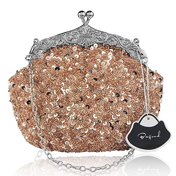 Vintage & Retro Handbags, Purses, Wallets, Bags Bagood Womens Vintage Evening Bags Clutches Purses Handbag Shoulder Bag $16.99 AT vintagedancer.com