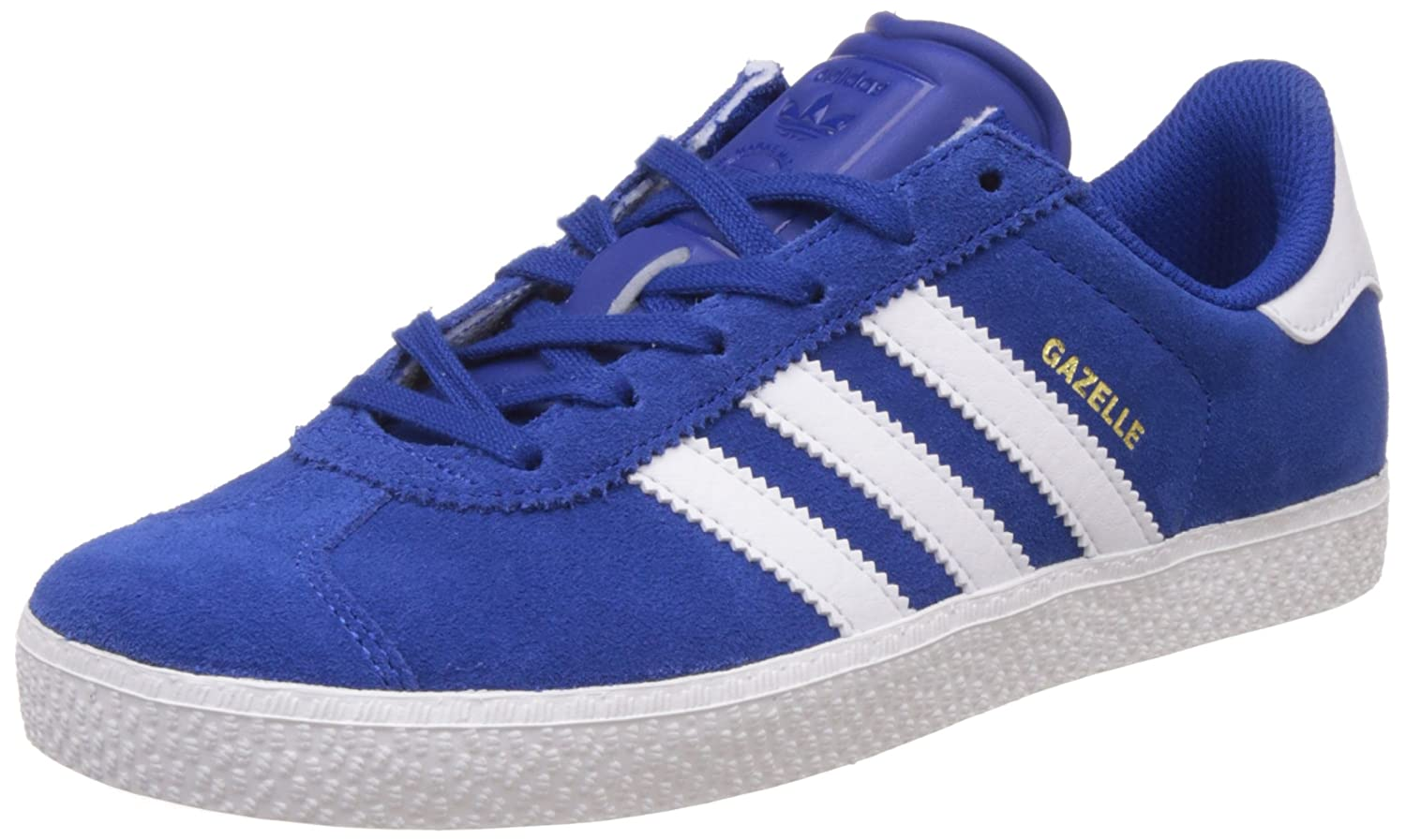 pretty nice f4368 02dbe Amazon.com  adidas Originals Gazelle 2 J Royal Blue Suede 4 M US Big Kid   Sneakers