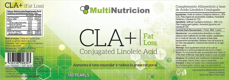 CLA 1000 | Tratamiento de 2 meses para tonificar y ganar ...