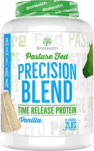 Precision Blend Vanilla 2 lb Time Released Whey Protein Blend