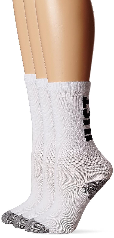 Nike Classic Just Do It - Calcetines para Mujer, Color Blanco/Negro/Gris, Talla L: Amazon.es: Zapatos y complementos