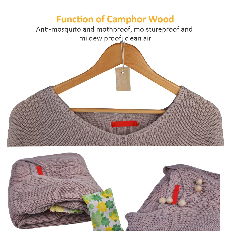 c9aef95a6 Alcanfor madera bolas de naftalina Natural fresco raíz aromático no tóxico  ropa Protector de visualización y repelente de polillas madera antipolillas  para ...