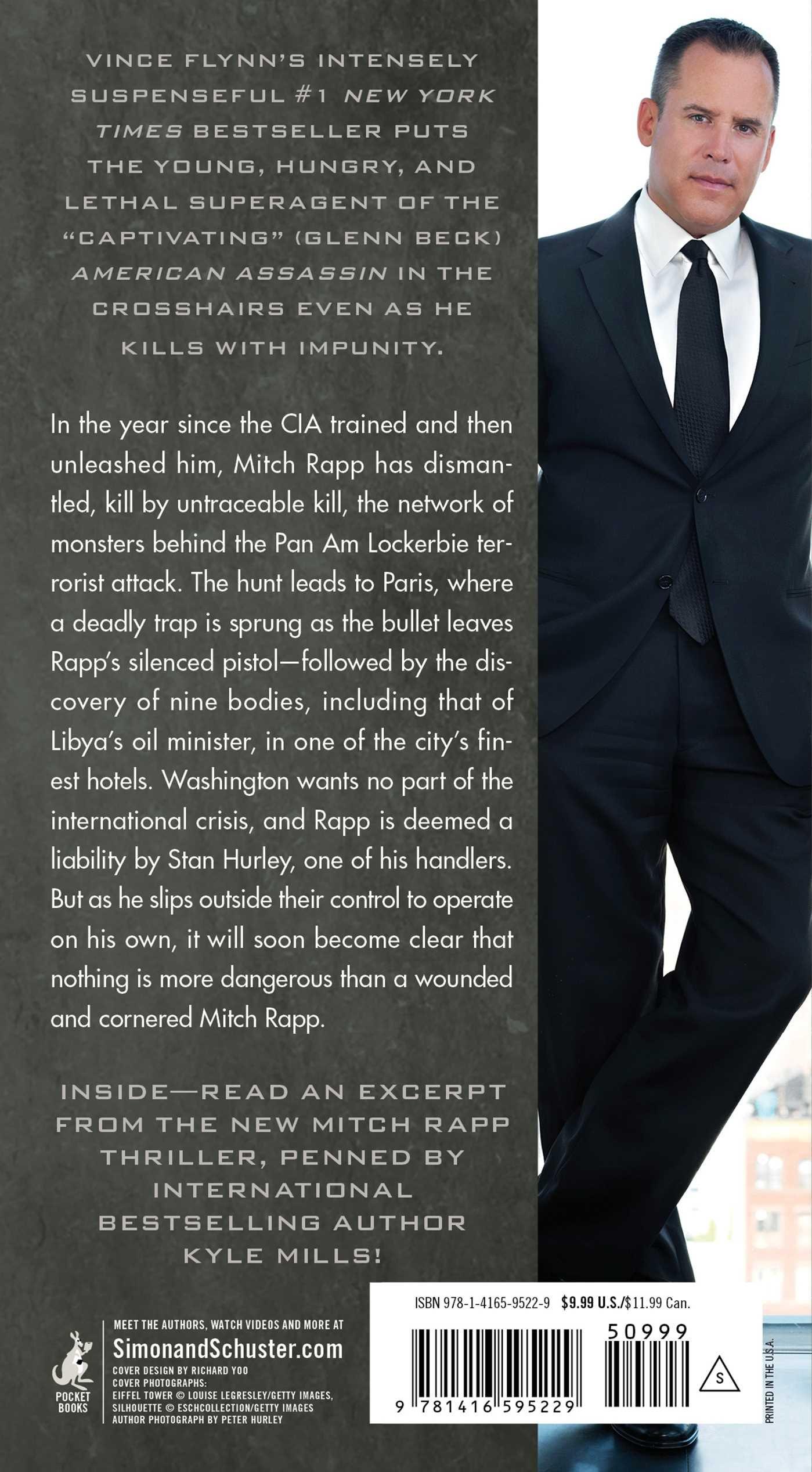 Kill Shot: An American Assassin Thriller (a Mitch Rapp Novel): Vince Flynn:  9781416595229: Amazon: Books