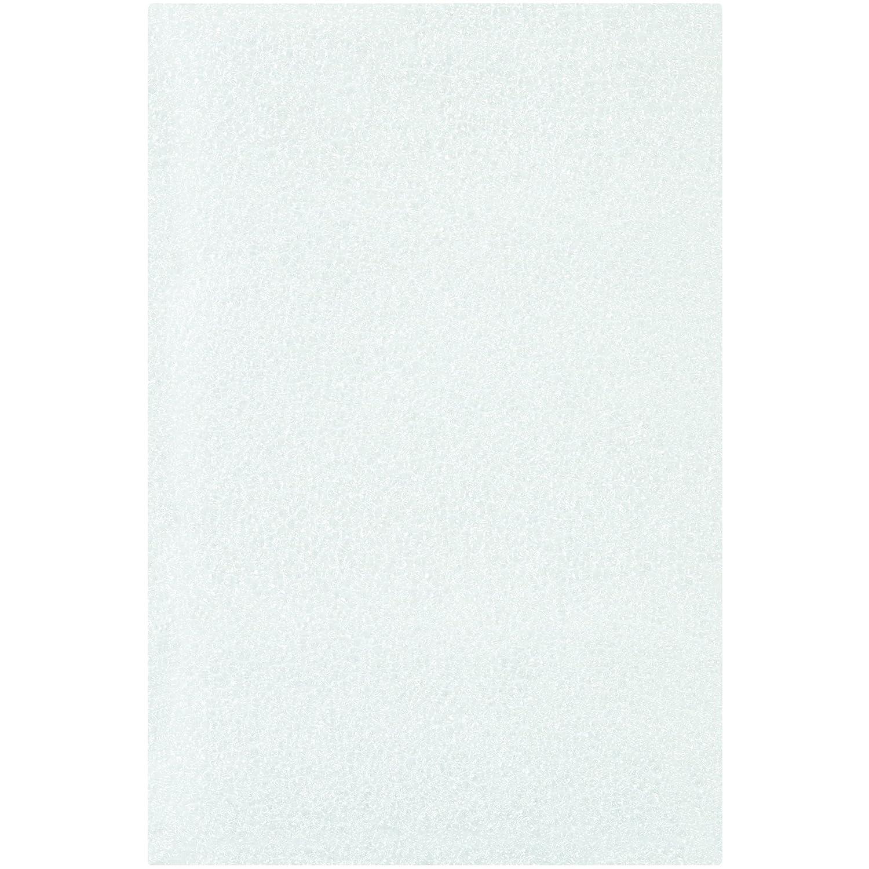 White Tape Logic TLFP46 Flush Cut Foam Pouches Pack of 500 4 x 6