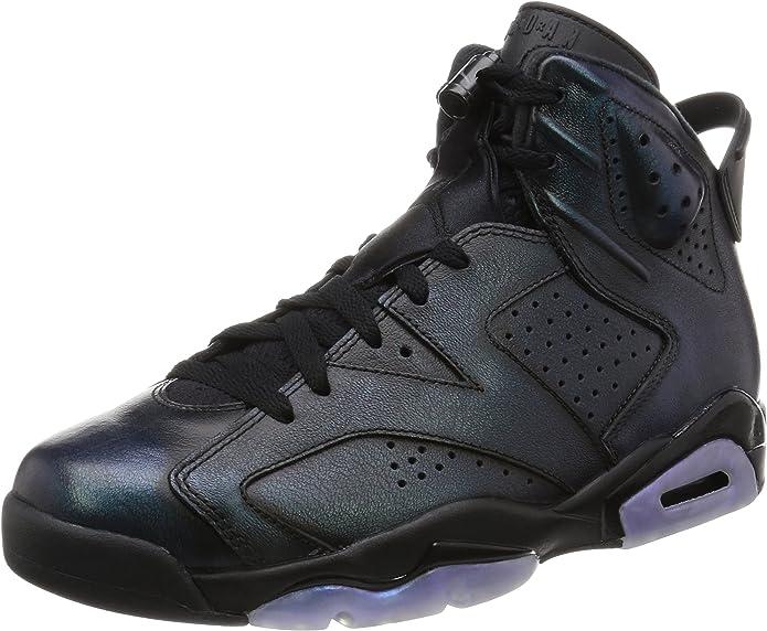 Nike Chaussures Jordan Spizike pour Homme en Cuir Noir