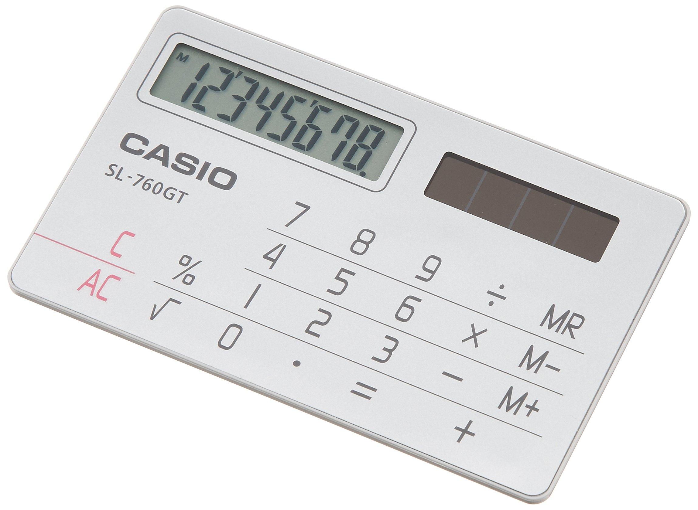 Casio Computer Co., Ltd. Casio card type calculator 8-digit SL-760GT-N (japan import)