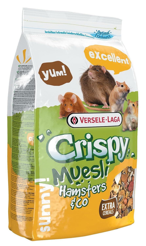 Versele-laga A-17680 Crispy Muesli Hámster - 1 kg Versele Laga