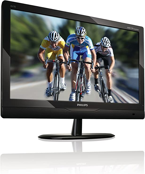 Philips T-Line 191TE2LB - Monitor LCD con sintonizador de TV Digital, 18.5