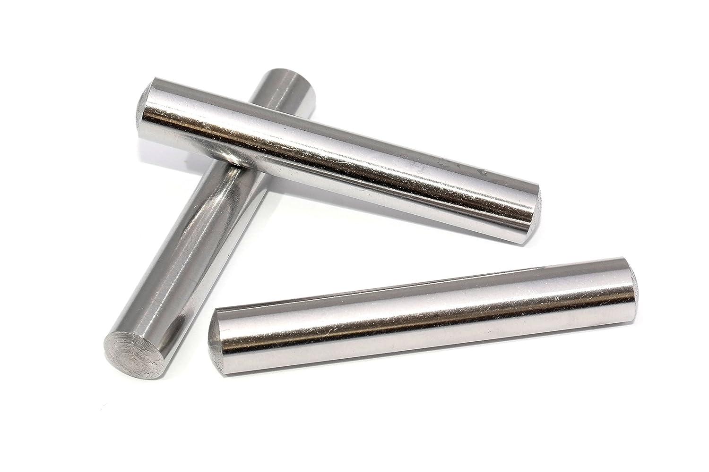 10 St/ück Zylinderstifte 3x20 DIN 7 Stahl blank Zylinderstift Pa/ßstifte Toleranz M6