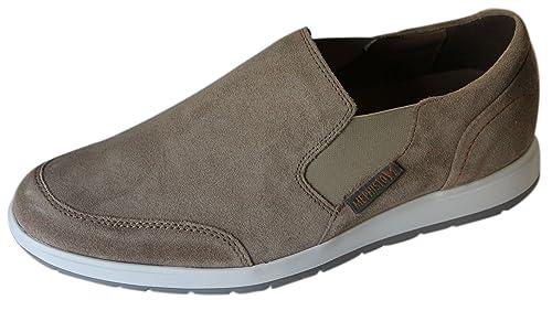 Mephisto - Mocasines de Piel para Hombre Beige Beige 10: Amazon.es: Zapatos y complementos
