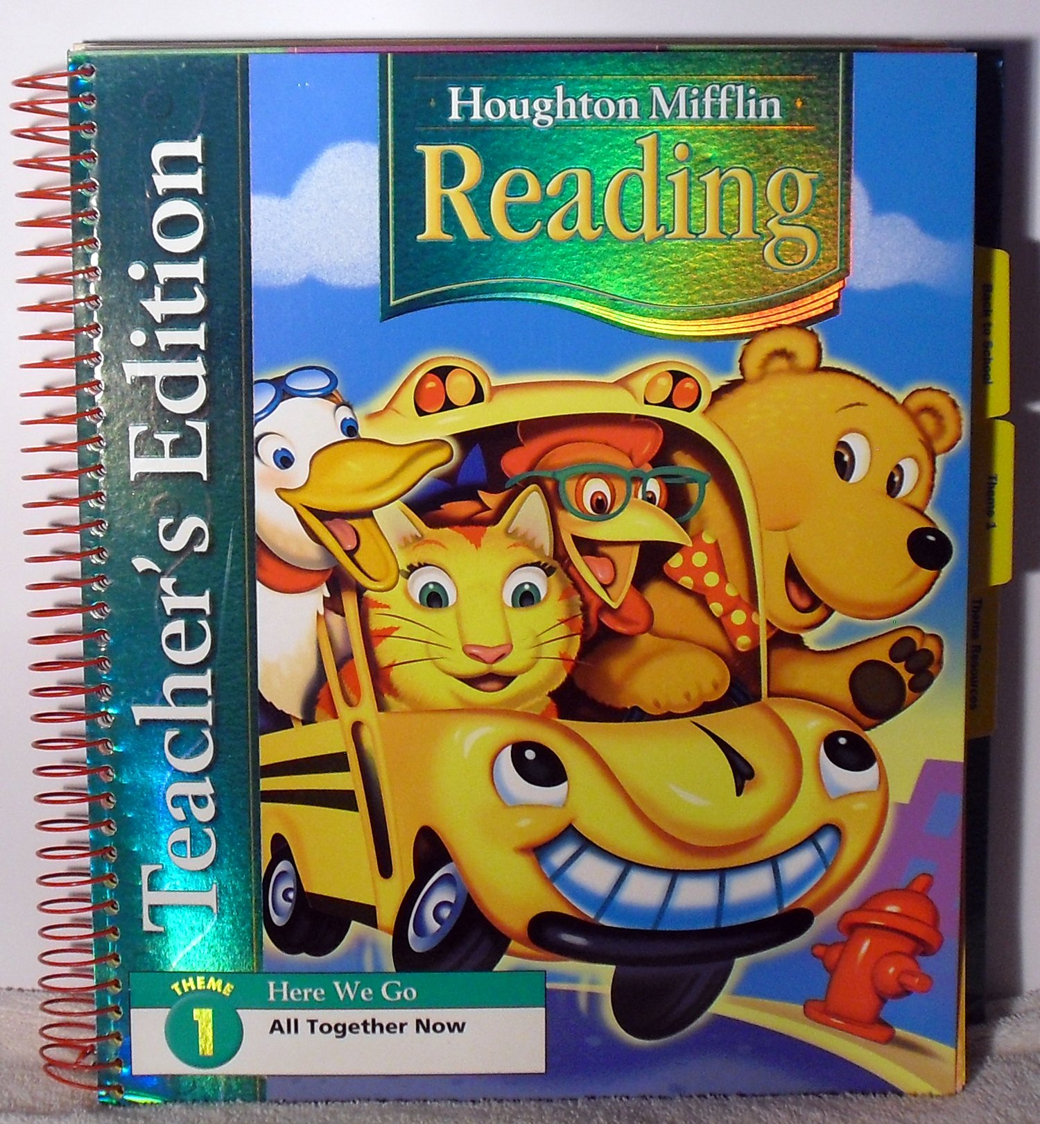 Houghton Mifflin Reading: Teacher's Edition Theme 1 Grade 1 2006 ebook