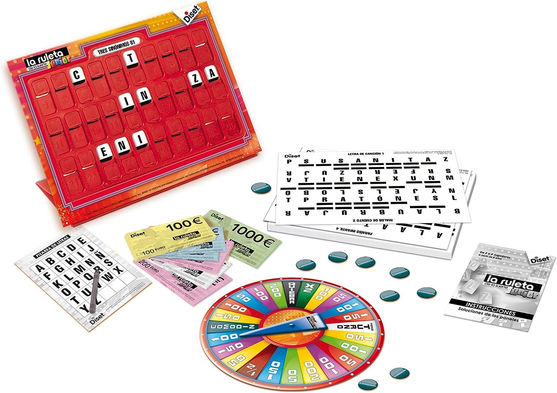 Diset - La Ruleta de la Suerte Junior (46204): Amazon.es: Juguetes y juegos
