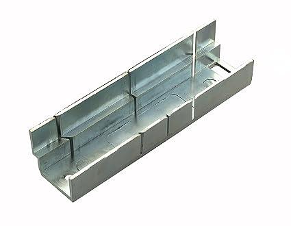Tile Rite mmb362 Metal – caja de ingletes, Plata, Small