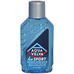 Aqua Velva Cooling After Shave for Men, Ice Sport, 3.5 Ounce