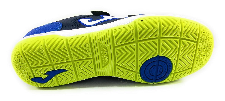 Joma Top Flex jr Zapatillas Fútbol Sala niño Velcro: Amazon.es: Zapatos y complementos