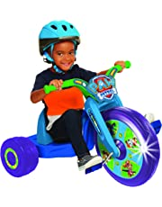 """Paw Patrol Code Fly Wheel Tricycle Ride on, 15"""", Blue/Green"""