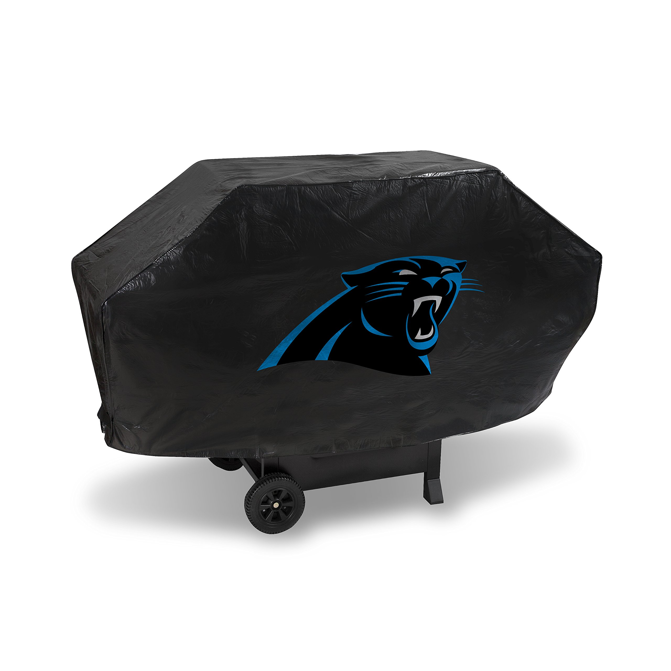 NFL Carolina Panthers Vinyl Padded Deluxe Grill Cover