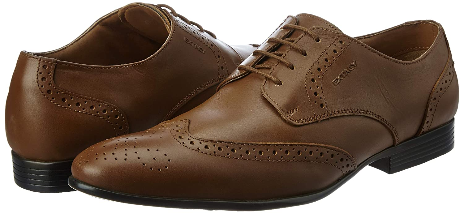 Leather Formal Shoes Rs 554 At Amazon