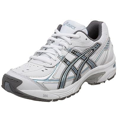 ASICS Women's GEL-150 TR Training Shoe,White/Blue/Silver,8
