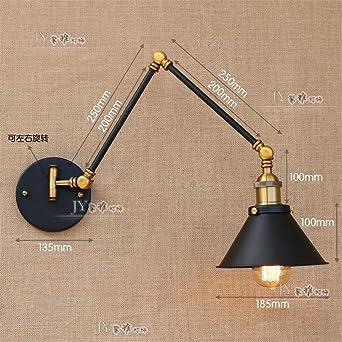 Anbiratlesn Modern E27 Vintage Rustikal Wandlampe Fur Schlafzimmer