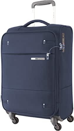 Samsonite 109255 Base Boost 2 Spinner Expandable Suitcase, Navy, 55 Centimeters