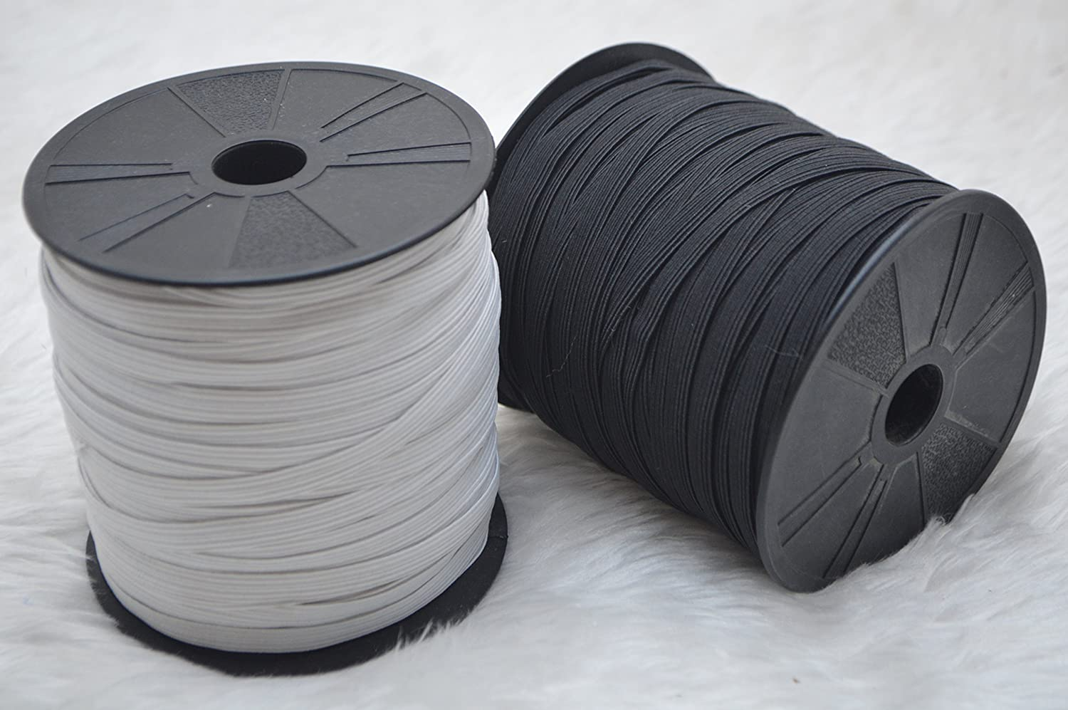 White Elastic 66 mm Wide 5 /& 10 Metre Roll