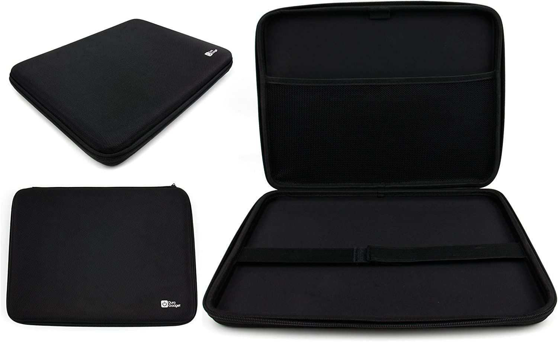 DURAGADGET Executive Custom-Designed Hard Shell EVA Case/Cover in Matte Black for Acer Switch Alpha 12 Laptop
