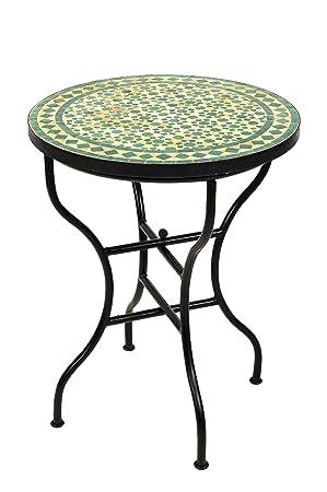 Bistrotisch Balkon.Amazon De Original Marokkanischer Mosaiktisch Bistrotisch ø