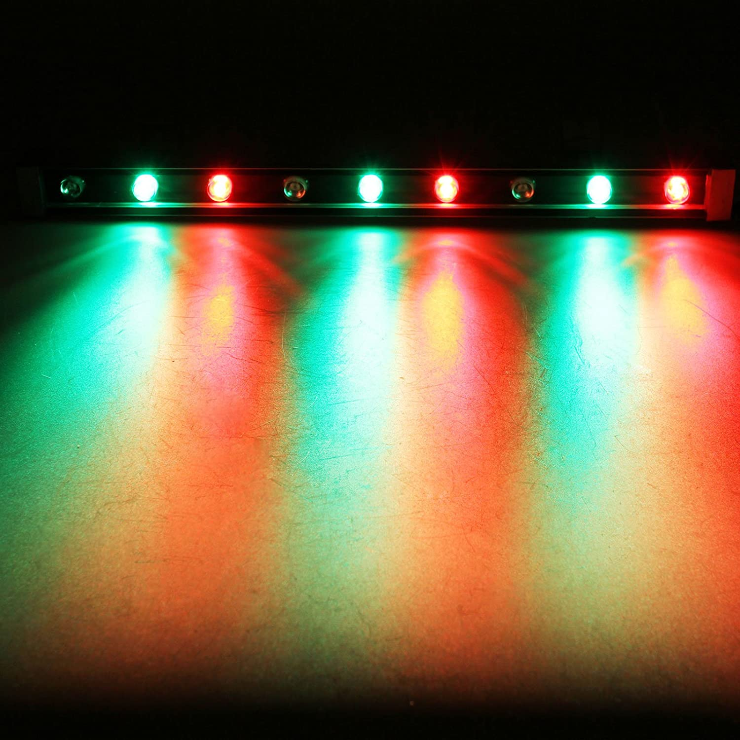 outdoor wall wash lighting. Amazon.com: TSSS 9W RGB LED Wall Wash Bar Light Waterproof Aluminum Alloy DJ Stage Background Lighting For Outdoor Party,Wedding, Restaurant, Venues, T