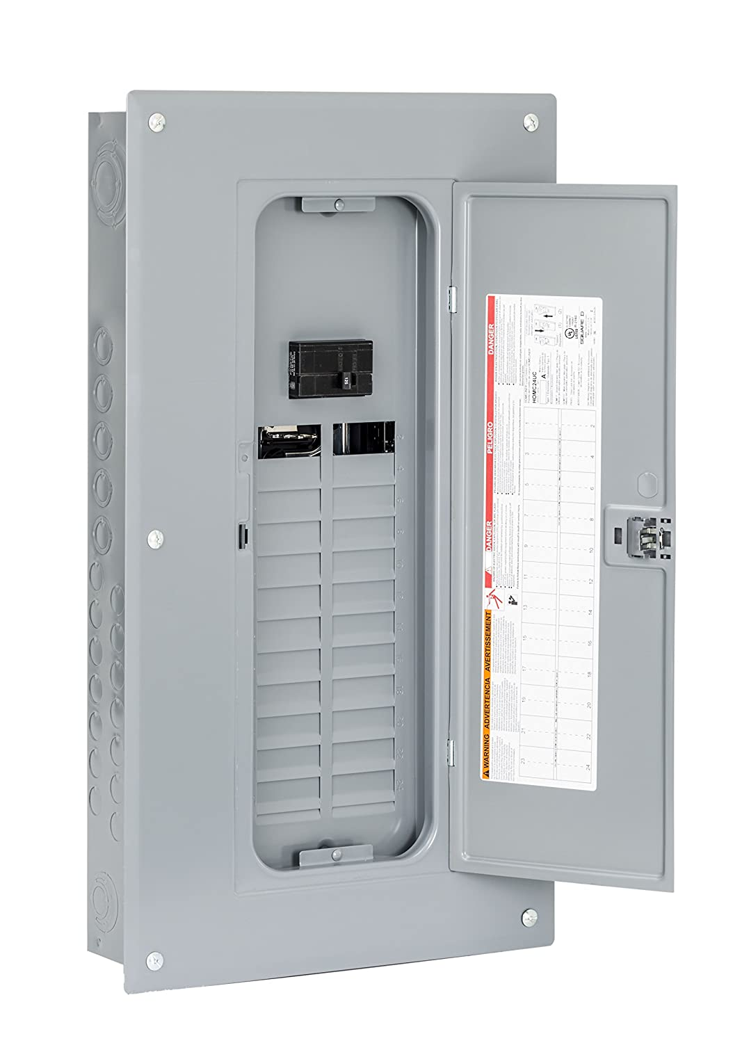 Square D by Schneider Electric HOM2448M125PC Homeline 125 Amp 24 ...